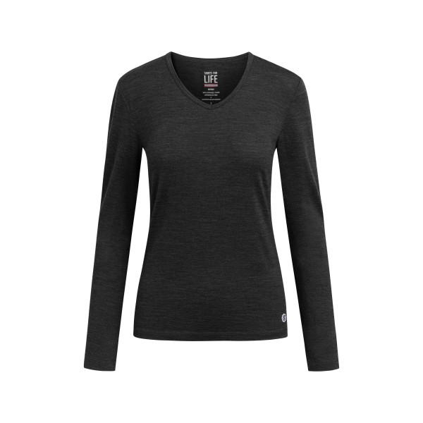 SFL Damen langarm Marta Merino T-Shirt