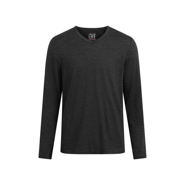 SFL Herren langarm Marvin Merino T-Shirt
