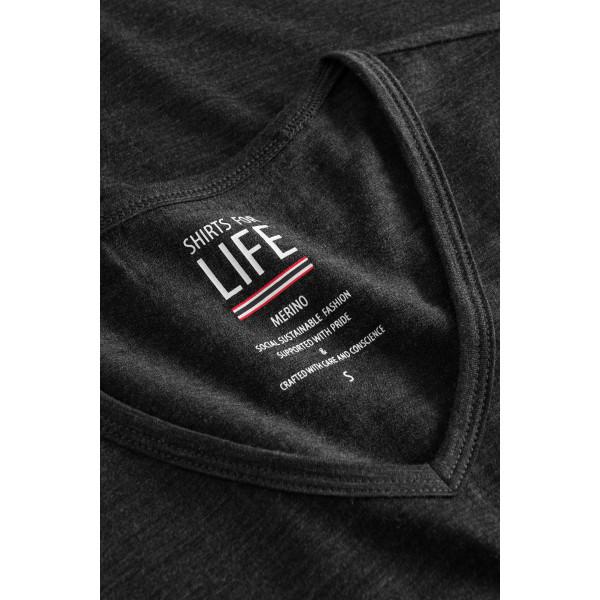 SFL Damen kurzarm Mary Merino T-Shirt