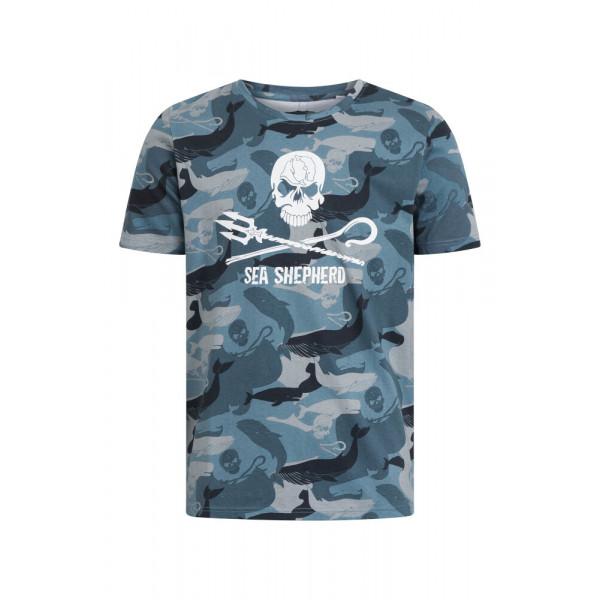 Whale Season Jolly Roger - T-Shirt
